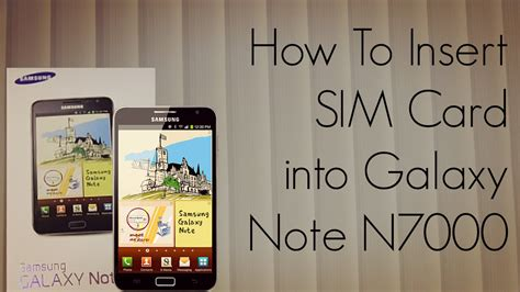 how to insert a sim card into an iphone how to insert sim card into galaxy note n7000 smartphone