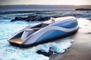 Kawasaki New Mini Jet Boat by V8 Powered Rod Jet Ski By Strand Craft Gtspirit
