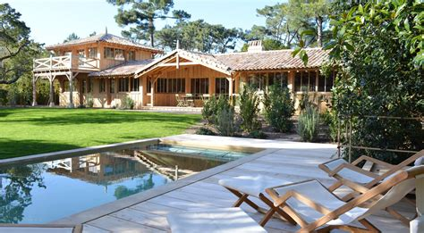 location cap ferret phare villa courlis avec piscine immo prestige