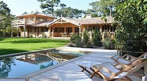 location cap ferret phare villa courlis avec piscine With maison a louer cap ferret avec piscine