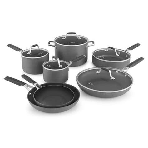 Calphalon Kitchen Essentials Non Stick Cookware by Select By Calphalon 12 Anodized Non Stick