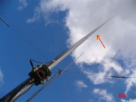 Schema antenna canna da pesca Fare di Una Mosca