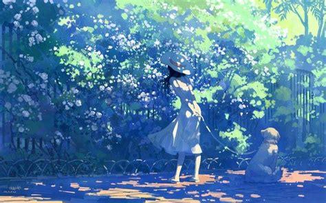 Anime Summer Wallpaper - summer white dress anime wallpapers hd desktop