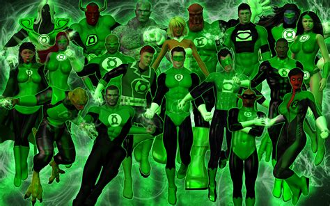 the green lantern corps by dragonspawn2000 on deviantart