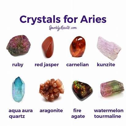 Crystals Aries Stones Crystal Instagram Properties