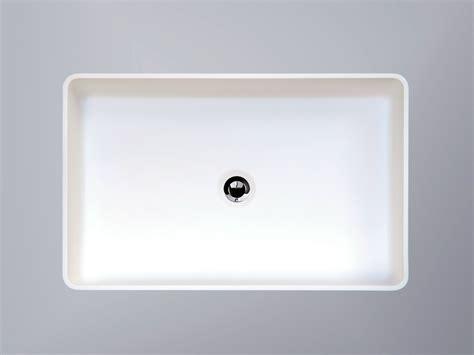 vasque 224 poser rectangulaire en hi macs 174 cb540r by hi macs