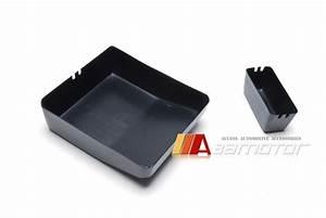Carbon Fibre Engine Bay Fuse Box Cover 2pc Set For Mitsubishi Evolution X Evo 10