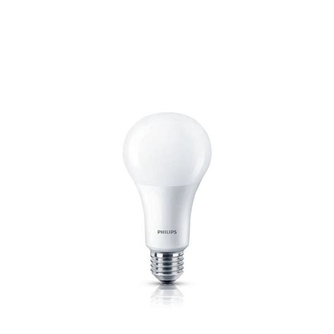 philips 75 watt equivalent frosted a21 dimmable warm glow