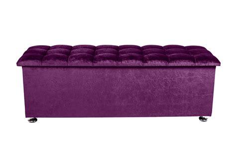 purple storage ottoman purple velvet storage box handcrafted in the uk