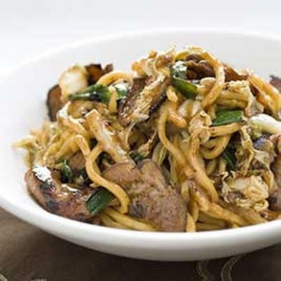 Lo Mein Stir Fry with Noodles
