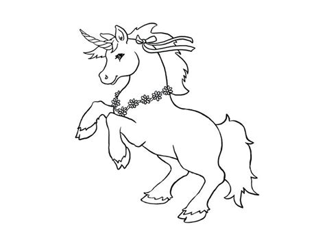 Home Improvement. Cute Unicorn Coloring Pages