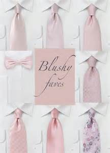 wedding ties featured wedding color blush bows n ties