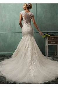 lace tulle stunning train wedding dress 2015 wedding With wedding dress search