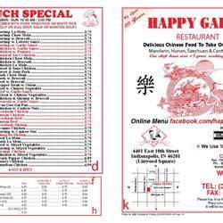 happy garden menu happy garden 4401 e 10th st indianapolis in