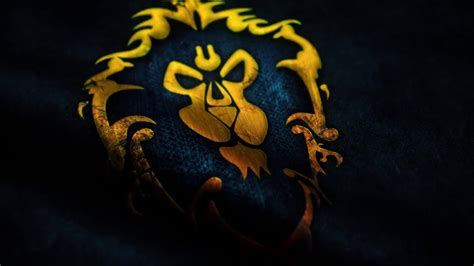 wow waving alliance flag  wallpaper desktophut
