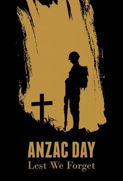 Silhouette Soldier Anzac War Fighting Vector Clip