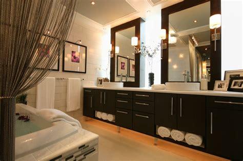 Luxe Designer Corner Bathroom Cabinet by Modern Luxe Bathroom Contemporary Bathroom