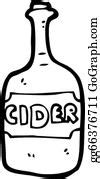 Cider Clip Art - Royalty Free - GoGraph