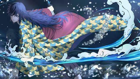 Demon Slayer Boy Giyuu Tomioka With Sword 4k 5k Hd Anime