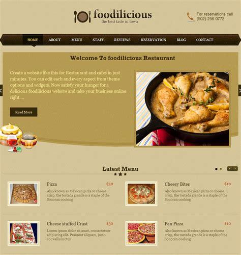 cuisine site image gallery web restaurant