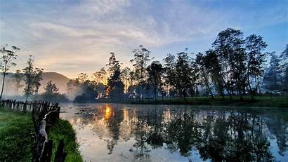 Indonesia Bandung 4k Java Sunrise Desktop Regency