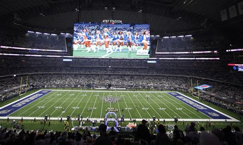 dallas cowboys obliterated  nfl teams   attendance