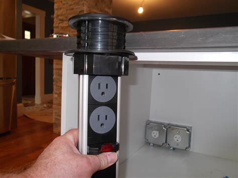 kitchen island power power grommets in kitchen islands design build pros