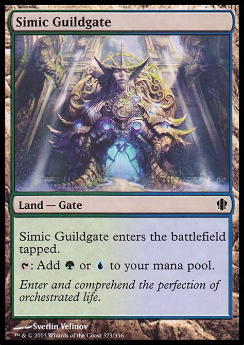 Commander Deck Animar Tapped Out by Simic Guildgate
