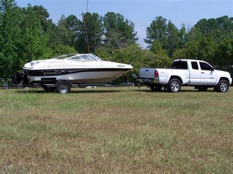 Aluminum Boats Tacoma by Pulling A Boat With 4 Cylinders Tacoma World