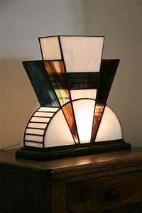 Lampe Art Deco : art deco natural curtain company ~ Teatrodelosmanantiales.com Idées de Décoration