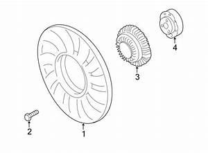 Volkswagen Passat Engine Cooling Fan Clutch  Liter