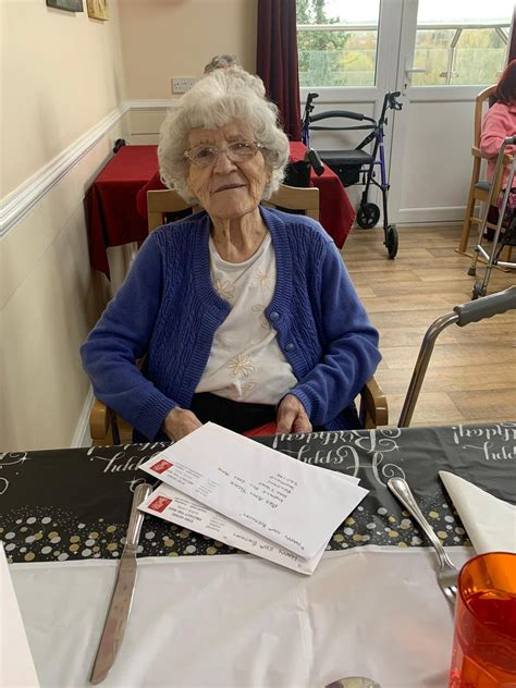 No party but Sheffield's Mary still celebrates her 100th ...