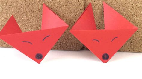 origami fuchs anleitung origami fuchs anleitung zum selber machen fuchs falten diy