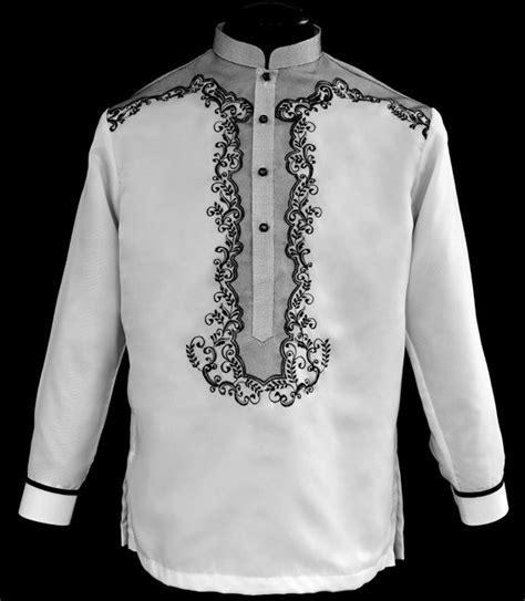 white barong tagalog  barong barong tagalog fashion