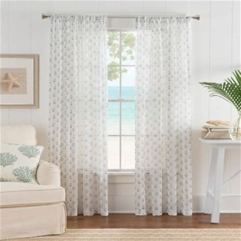 Blue Sheer Curtains 63 by Buy Blue Sheer Curtains From Bed Bath Beyond