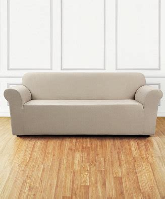 macys sofa covers sure fit stretch chenille one sofa
