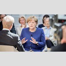 Tvinterview Bei Einer Frage Weicht Merkel Aus Und Betont