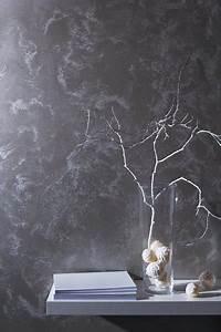 Effekt Wandfarbe Perlmutt : glanzvolle wandfarben in gold silber und metallic effekten verbreiten glamour wohnen ~ Heinz-duthel.com Haus und Dekorationen