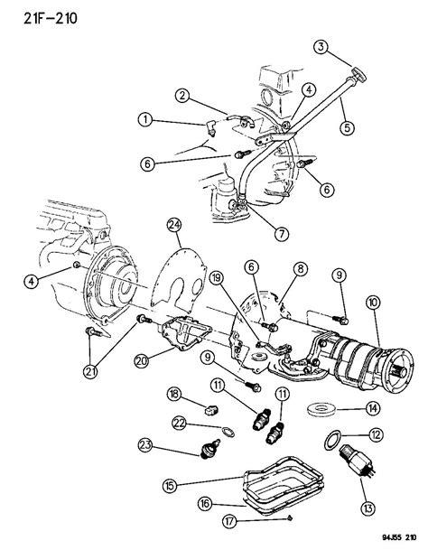 Dodge 44re Transmission Diagram by 52079168ab Chrysler Lever Manual Lever Manual