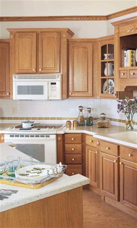 kitchen cabinet color ideas with white appliances 18 best images about kitchen ideas on oak 9647