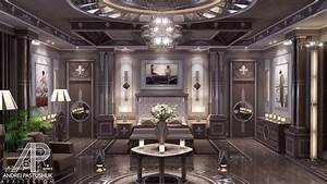 High end interior design art deco master bedroom youtube for Art deco zone design interior