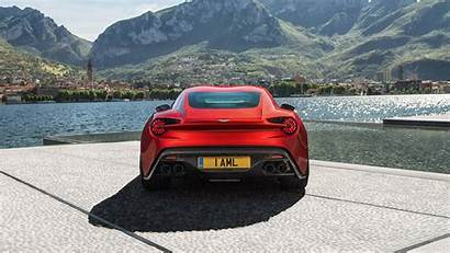 Aston Martin Zagato Vanquish Rear Cars 4k