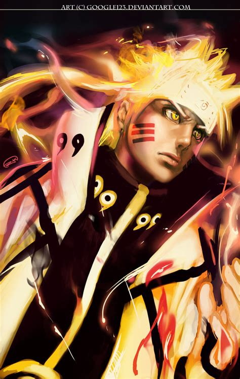 blog imam cr  wallpaper keren naruto mode full biju