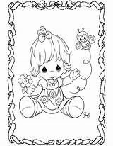 Precious Moments Coloring Pages Print Coloringcolor sketch template