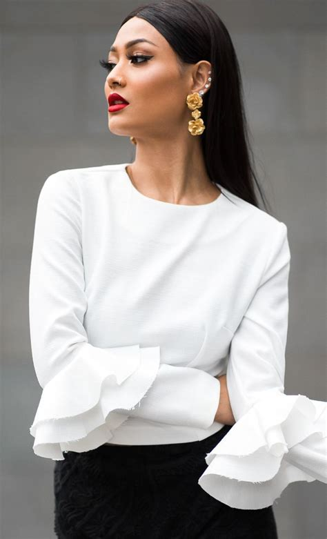 white blouse sleeve 1000 ideas about white blouse on work