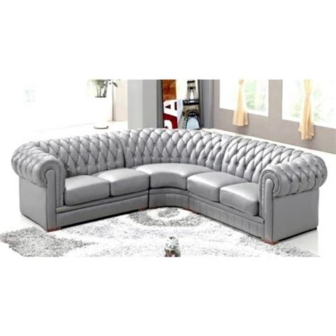 canape cdiscount canape chesterfield gris pas cher