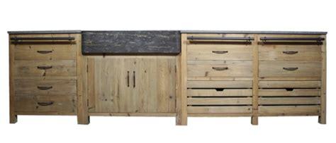 meuble cuisine bois brut cuisine où trouver des meubles indépendants en bois brut