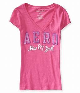 Aeropostale Womens NY 87 Graphic T-Shirt | Womens Apparel ...