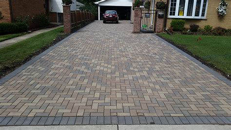 driveway paving materials brick paving driveway how to create one euro paving
