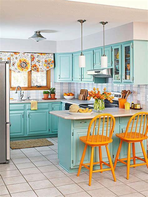 turquoise  orange decor becoration